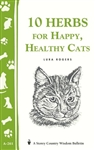 Animal Bulletins by Storey: 10 Herbs for Happy, Healthy Cats