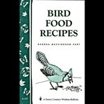 Gardening How-To Book: Bird Food Recipes