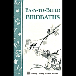 Gardening How-To Book: Easy to Build Birdbaths