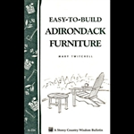 Gardening How-To Book: Easy to Build Adirondack Furniture