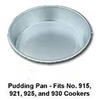 Pressure Cooker-Pudding Pan