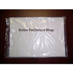 Butter Making Supplies - Butter Wrap Parchment/pkg. 100