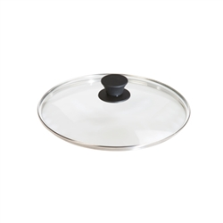 "Cast Iron - 10.25"" Clear Glass Lid"