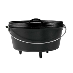 Cast Iron - 8 Quart Dutch Oven-Preseasoned