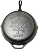 Cast Iron Skillet - Canada - Maple Leaf - Preseasoned 12 inch