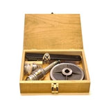 Country Living Grain Mill - Wooden Case & Parts