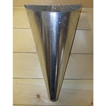 Poultry Farm Equipment - Small Galvanized Steel Killing Cone