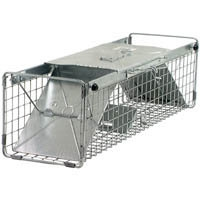 Outdoor Pest & Animal Control - Live Trap_18x5x5 Two-Door Trap