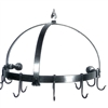 Pot Rack - Half Round Wall Rack