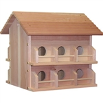 Purple Martin House-12 room - Cedar