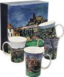 Paul Cezanne Mug Set of 4