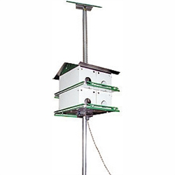 Purple Martin House 8 Room Safety System