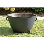 Cast Iron 10 1/2 Gallon Sugar Kettle - Kitchen & Entertaining Supplies