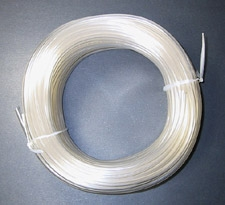 "Poultry Farm Equipment - Clear 1/2"" tubing - 1` section"