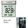 Garden & Outdoor Living Supplies - See Thru Window Thermometer