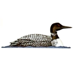 Loon Weathervane, Coloured - Outdoor Ornamental Weather Vane