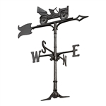 Antique Auto Weathervane - Outdoor Ornamental Weather Vane