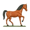 "Horse Weathervane, Coloured - 30"" Aluminum Ornamental Wind Instrument"