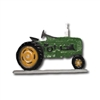 Tractor Weathervane, Coloured