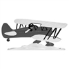 Airplane Weathervane-Black 30