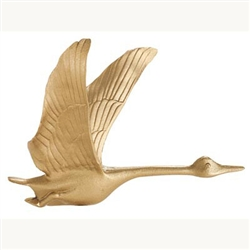 "Goose Weathervane - 30"" Aluminum Ornamental Wind Instrument"