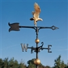 "Eagle Weathervane - 30"" Aluminum Ornamental Wind Instrument"