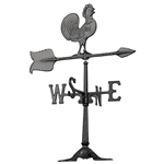 Rooster Weathervane - Outdoor Ornamental Weather Vane