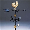 "Full Bodied XL 46""  Rooster Weathervane"