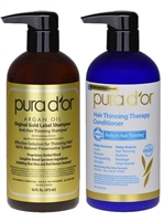Shampoo & Conditioner / Gold Label -- Pura D'or