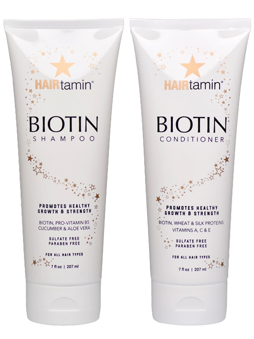 HAIRtamin | Biotin Shampoo & Conditioner