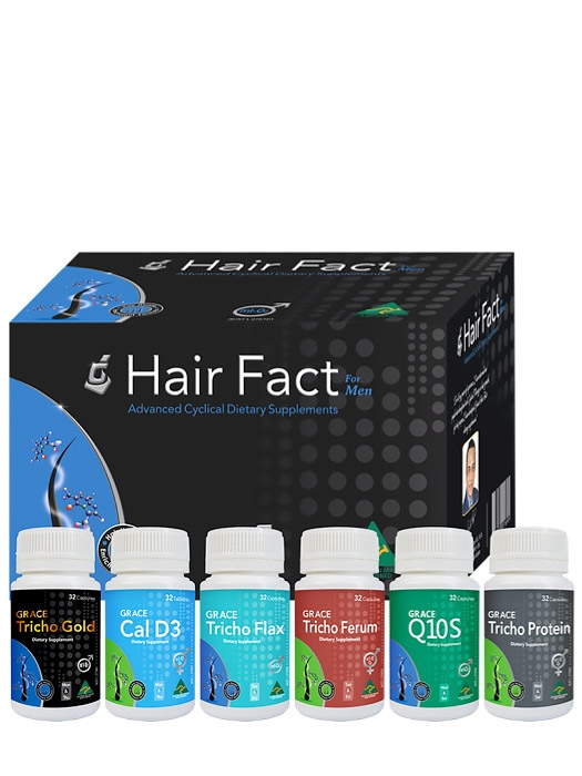 Hair Fact Men | Hair Vitamins