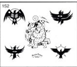 Surkov Tattoo Flash SET 1 / SHEET 2