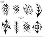 Surkov Tattoo Flash SET 1 / SHEET 8