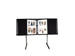 1-Tier Tattoo Flash Floor Display Unit WITH PLASTIC