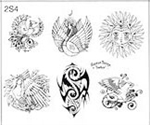 Surkov Tattoo Flash SET 2 / SHEET 4