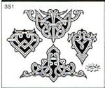 Surkov Tattoo Flash SET 3 / SHEET 1