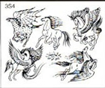 Surkov Tattoo Flash SET 3 / SHEET 4