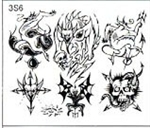Surkov Tattoo Flash SET 3 / SHEET 6