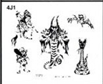 Apache Jil SET 4 / SHEET 1