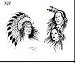 Apache Jil SET 7 / SHEET 7