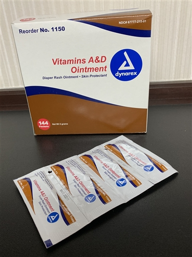 Ad Ointment Foil Packs