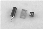 "1/8"" Plug & Jack Kit For National Tattoo Machines"