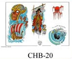 Henry Buro Color Flash SHEET 20