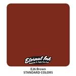 Eternal Tattoo Ink - Brown (1 oz)