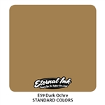 Eternal Tattoo Ink - Dark Ochre  (1 oz)