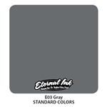 Eternal Tattoo Ink - Gray  (1 oz)