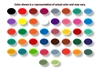 """Create Your Own"" Set of 10 Homogenized Liquid Tattoo Ink Colors (4 oz.)"