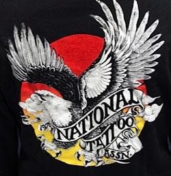 National tattoo association hooded sweatshirt for Association of professional tattoo artists