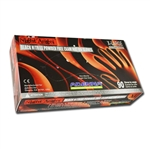Black Night Angel Nitrile Gloves X-LARGE