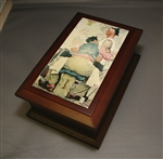 Norman Rockwell Music Box